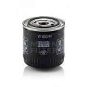 Filtro de aceite MANN W920/45 para Ford, Mazda y MG