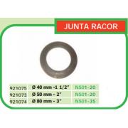 JUNTA RACOR PARA MOTOBOMBA 40 MM DE DIAMETRO