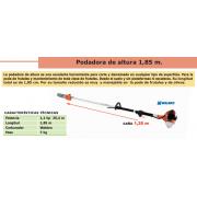 PODADORA DE ALTURA BASIC P 25 C