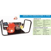 GRUPO PULVERIZADOR OS 22C5-55 MOTOR BASIC 5,5 HP