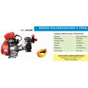 GRUPO DE PULVERIZACION 4 TIEMPOS GMB 600 B4