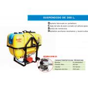 EQUIPO DE PULVERIZACION SUSPENDIDO PARA TRACTOR DE 300L GMB 55-S30