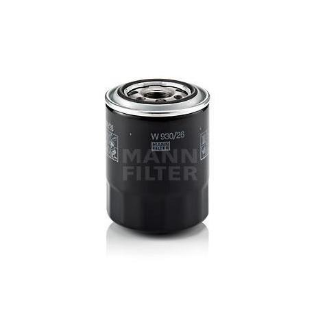Filtro de aceite MANN W 930/26 para Hyundai y Kia