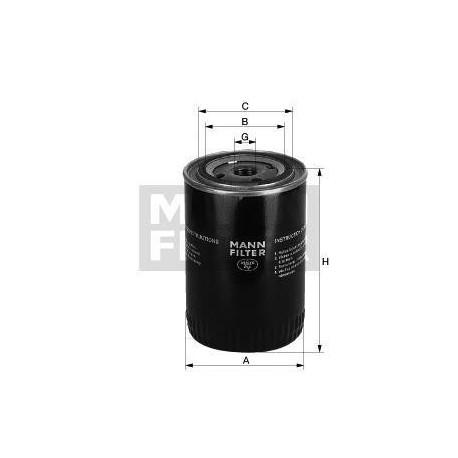 Filtro de aceite MANN W 1126/4 para Seat