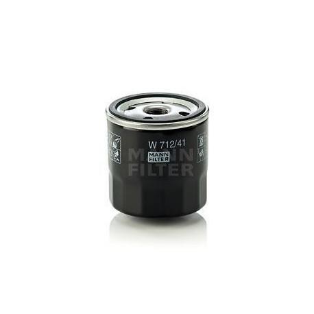 Filtro de aceite MANN W 712/41 para Opel