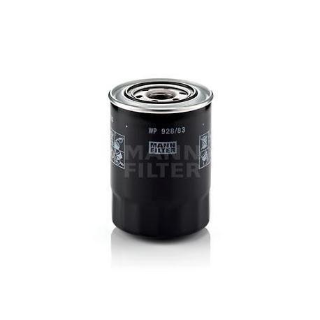 Filtro de aceite MANN WP 928/83 para Galloper, Hyundai y Mitsubishi