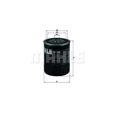 Filtro de aceite KNECHT FILTER : OC262 para Ford, Seat y Volkswagen