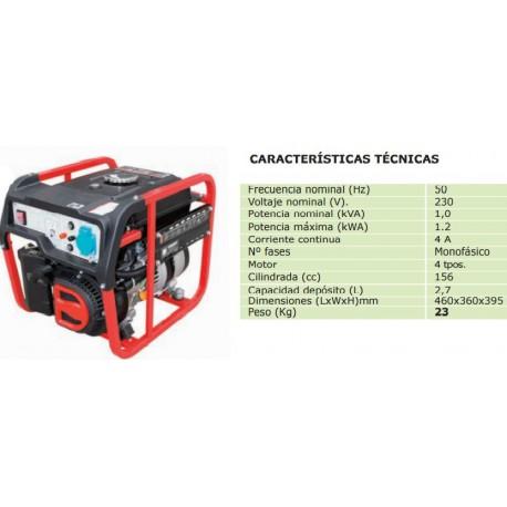 GENERADOR BASIC PR 1500 C