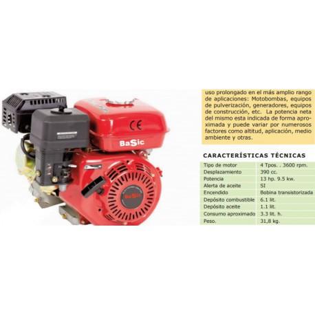 MOTOR BASIC 4T 13 HP