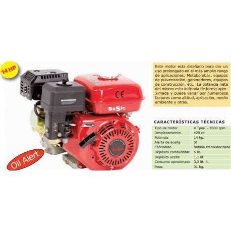 MOTOR BASIC 4T 14 HP