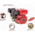 MOTOR BASIC 6,5 HP 196CC OS-168 F-2/20