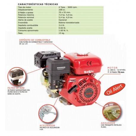 MOTOR BASIC 7 HP 208CC