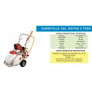 CARRETILLA DE PULVERIZACION BASIC MOTOR 2T