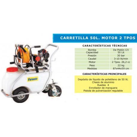 CARRETILLA DE PULVERIZACION BASIC 50 L
