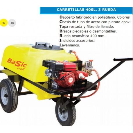 CARRETILLA DE PULVERIZACION BASIC 400L