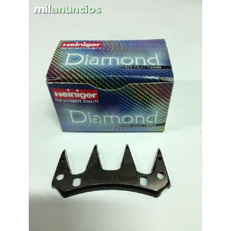CUCHILLAS ESQUILADORA HEINIGER DIAMOND 3,7MM