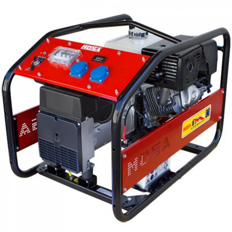 GE-7500 MBH RENTAL + AVR Grupo electrógeno gasolina