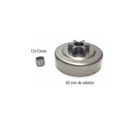 CAMPANAS DE EMBRAGUE (compatible con Stihl) 12 18014 017/018/019/021/023/025/MS180/MS190/MS250. 3/8x6