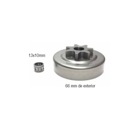CAMPANAS DE EMBRAGUE (compatible con Stihl) 12 18015 023/025/MS230/MS250. 3/8x7
