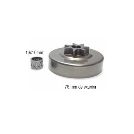 CAMPANAS DE EMBRAGUE (compatible con Stihl) 12 18016 029/034/036/039/MS290/MS310/MS360/MS390/. 3/8x7
