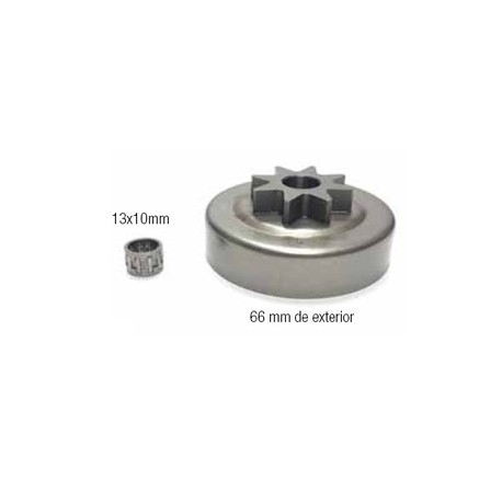 CAMPANAS DE EMBRAGUE (compatible con Stihl) 12 18020 021/023/025/MS210/MS230/MS250. 325 x 8