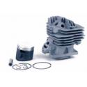 CILINDRO COMPLETO ADAPTABLE (compatible con Stihl MS-261) 12 20058 MS 261 (Diámetro: 44,7 mm)