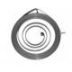 MUELLES DE ARRANQUE (compatible con Husqvarna/Jonsered) 12 24003 61/162/266/268/272/281/288. Jonsered 625/630/670. ø: 5 mm