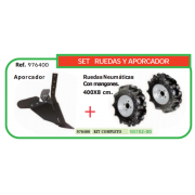 SET RUEDAS Y APORCADOR REF 976400