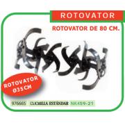 ROTOVATOR DE 80 CM PARA MOTOAZADA REF 976665