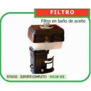 FILTRO CON SOPORTE PARA MOTOAZADA REF 976030