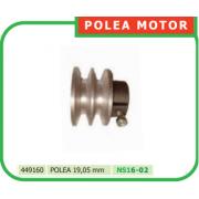POLEA MOTOR 19,5 mm PARA MOTOAZADA REF 449160