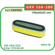 FILTRO DE AIRE ADAPTABLE A HONDA GXV 160-200