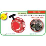 ARRANCADOR ADAPTABLE A HONDA GX 160 (TRINQUETE METALICO REDONDO)