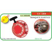 ARRANCADOR ADAPTABLE A HONDA GX 160 (TRINQUETE PLASTICO)
