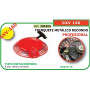ARRANCADOR ADAPTABLE A HONDA GXV 160 (TRINQUETE METALICO REDONDO)