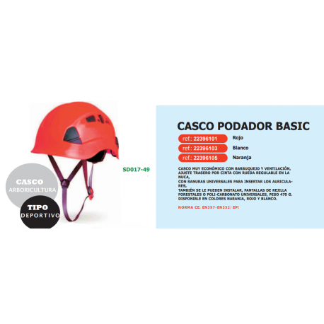 CASCO PODADOR BASIC REF 22396101