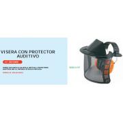 VISERA CON PROTECTOR AUDITIVO