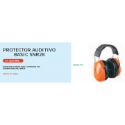PROTECTOR AUDITIVO BASIC SNR28