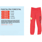 PANTALON FORESTAL ANTICORTE
