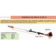 PODADORA DE ALTURA BASIC P 25 L