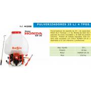 PULVERIZADOR 25 L 4 TIEMPOS MOTOR HONDA GX-35