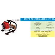 GRUPO DE PULVERIZACION 2 TIEMPOS TF 600 B