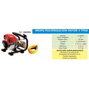 GRUPO PULVERIZACION CON MOTOR 4 TIEMPOS TF 600 B4
