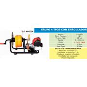 GRUPO PULVERIZADOR 4 T CON ENROLLADOR TF 600 B4E