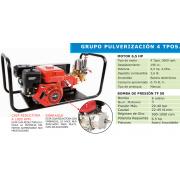GRUPO PULVERIZADOR TF 50C-65 CON MOTOR BASIC 6,5 HP