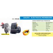 GRUPO ELECTRICO DE PULVERIZACION TPM 100