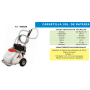 CARRETILLA 30 L DE BATERIA AT 30 M3