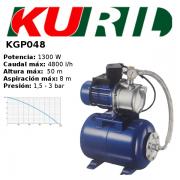ELECTROBOMBA DE SUPERFICIE/AUTOCEBANTE KURIL KGP048 PARA AGUAS LIMPIAS