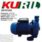 ELECTROBOMBA DE SUPERFICIE/AUTOCEBANTE KURIL KF07529 PARA AGUAS LIMPIAS