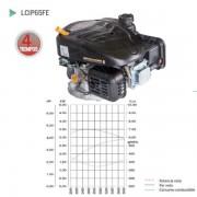MOTOR DE 4 TIEMPOS LONCIN LC1P65FE